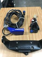 Lowrance HDI Hook 7 Transducer, Power cord & Head mount