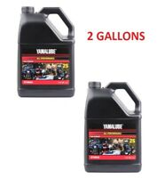 2 Gallons Yamalube 2S 2 Stroke All Purpose Motorcycle ATV Snowmobile Oil 2-S