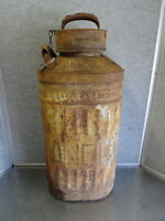 Vintage Ellisco SUNOCO Embossed 5 Gallon Oil Gas Can Container