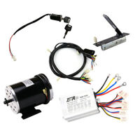 Electric Motor+ Pedal +Controller+Ignition Switch+Wire Harness E-Gokart Quad ATV