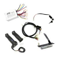 Speed Controller +Foot Pedal+Grip +Ignition Switch+Wire Loom  E-Gokart Quad ATV