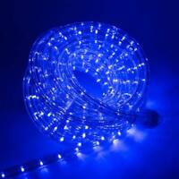25ft 300 leds BLUE 8-Mode Controller Extendable LED Rope Lights Holiday Outdoor
