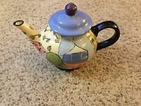 Droll Designs-Hand-Painted Teapot