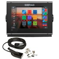 Simrad GO7 XSR Combo Multi-touch Chartplotter w/ HD Sidescan Image-000-14326-001