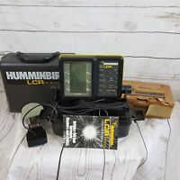Humminbird LCR 4000 Portable Fish finder with case battery + accessories