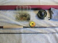 Complete LL Bean Quest II Fly Rod Outfit  Brand NEW! Nice Package!     >}}}}}:>