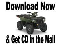 Polaris 2017 2018 2019 ATV Sportsman 450 570 service manual