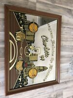 Vintage Seagrams Salutes The Winners VO Crown Royal Charlotte 94 Mirror Sign