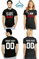 IF I LOST RETURN TO BABE Couple Matching TSHIRTS TOGETHER SINCE For Him and Her $22.99