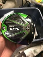 CALLAWAY GBB EPIC Sub Zero 10.5* DRIVER CLUB HEAD ONLY Right Hand See Desription