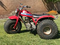 1981 Honda ATC 185s Runs Great! Idles Great! Complete With Title