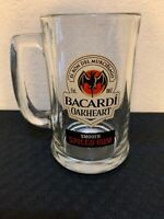 Bacardi Oakheart Smooth Spiced Rum 12 oz Glass Mug