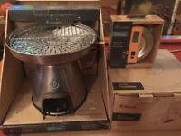 BioLite BaseCamp Stove Pizza Dome Wood Fired Oven Grill Camping BBQ Smoker Cook
