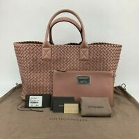 Bottega Veneta Cabat Intrecciato Nappa Tote Bag Deco Rose - Retail $7300