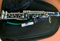 Modern LEBLANC FRANCE NORMANDY 4 WOOD CLARINET with Case and Mouthpiece