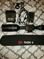 ATN ThOR 4 384 7-28x Thermal Riflescope with ABL 1000 range finder, custom zoom