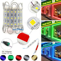 10-100FT 5050 SMD 3 LED Module Light Store Front Window Sign Lamp LED Decoration