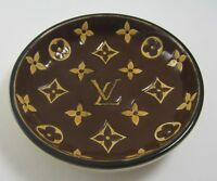 Louis Vuitton Vintage Longwy Special Edition Ceramic Ashtray Trinket Dish Bowl