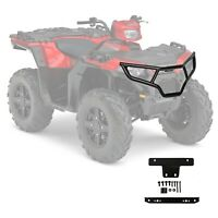 Black Steel Front Brushguard For 2014-2019 Polaris Sportsman 450 570 Touring ETX