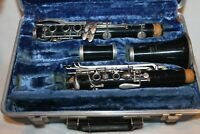 King Tempo Clarinet With Hard Case - NEEDS SERVICED serial # 602649