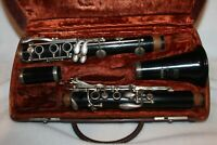 Antique Clarinet in Selmer Bundy Case NEEDS A FEW PADS SERIAL # 50926