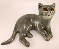 Winstanley Pottery Cat, Mike Hinton, England