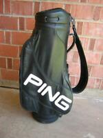 Ping Black Staff Bag Excellent