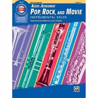 Accent on Achievement Pop, Rock, and Movie Instrumental Solos 00-45909