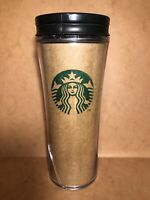 Starbucks Coffee from Recycled Paper Tumbler Thermos Mug # Rare For Collectors #