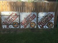Lot Of 3 Vintage Porcelain Standard Oil Of Louisiana Stanocola Polarine Sign 48""