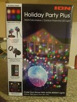 ION Multi Color  Holiday Party Plus Indoor/Outdoor LED Light