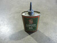 Vintage Singer Oil Can Tin Can Handy Oiler Vintage Oil Can Household Oil Can
