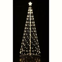 Homebrite 16'FT White LED Light Christmas Tree Remote 192