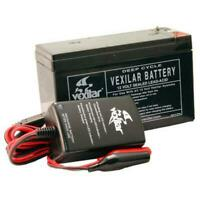 Vexilar 9 Amp Hour Battery And Charger System /V-120