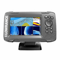 Lowrance Hook2-5 with TripleShot Transducer + US Inland Lake Maps 000-14285-001