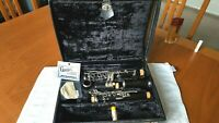 Selmer Bundy Resonite Clarinet has new pads and corks with Deluxe case