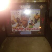 WILLIE STARGELL SEAGRAMS 7 BASEBALL VINTAGE MIRROR