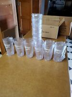 12 New clear 20 oz Pepsi restaurant tumbler G.E.T. item NO. 6620