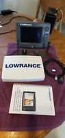 Lowrance LCX-25C Color Chartplotter / Fishfinder, Good Condition