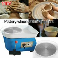 25CM 250W Pottery Wheel Ceramic Machine For Ceramic Work Clay Pottery Mold 110V