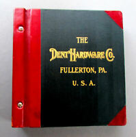 ANTIQUE Dent Hardware Company REFRIGERATOR HARDWARE 1911 CATALOGUE Illustrated