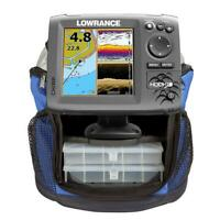 LOWRANCE STORE DISPLAY Hook-5 Mid/High Ice Machine No Charger or box 000-12654-0