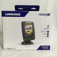 Lowrance 000-12635-001 Hook-3X Sonar W/ 83/200 XDCR Excellent Condition