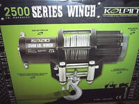 2500 pound ATV Winch Koplin Winch All Terrain Vehicle Winch Four Wheeler Winch