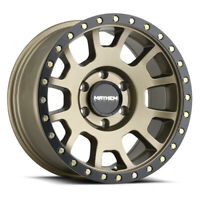 MAYHEM 8302 Scout 17X8.5 5x127 Offset 0 Matte Gold w/Black Beadlock (Qty of 4)