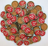 Soda pop bottle caps Lot of 100 FIREWATER with flames cork unused new old stock