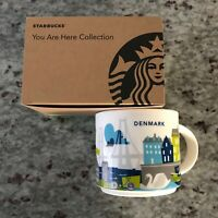 Starbucks Copenhagen Mug YAH Denmark You Are Here Bicycle Harbor New Coffee Cup