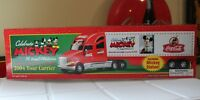 Speedway Mickey Mouse Coca Cola Coke Semi Truck Tour Carrier 2004 75 Yrs New Box