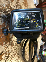 98 Yamaha Grizzly 600 Speedometer with Cable & Mounting Bracket  98 - 01
