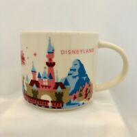 Disneyland Starbucks Coffee Mug You Are Here Collection Disney Parks YAH Used